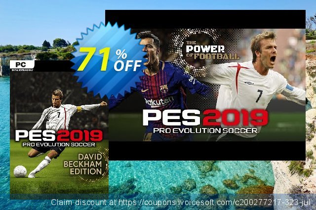 Pro Evolution Soccer (PES) 2019 David Beckham Edition PC  특별한   촉진  스크린 샷