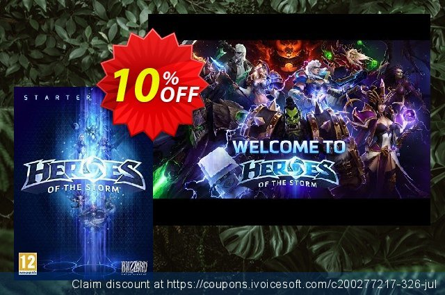 Heroes of the Storm Starter Pack PC/Mac  신기한   제공  스크린 샷