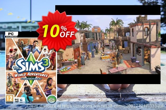 The Sims 3: World Adventures - Expansion Pack (PC/Mac)  위대하   세일  스크린 샷
