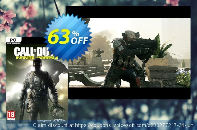 Call of Duty (COD): Infinite Warfare PC discount 69% OFF, 2021 Mother Day offering sales. Call of Duty (COD): Infinite Warfare PC Deal