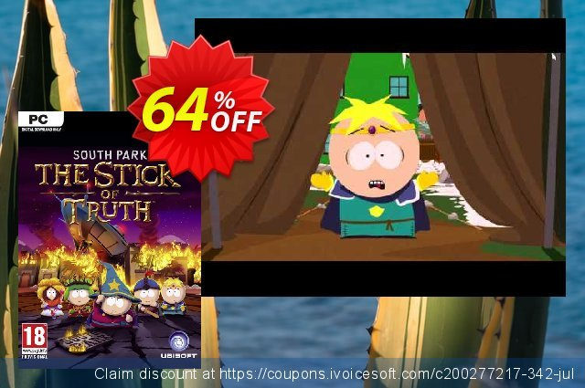 South Park The Stick of Truth PC - Uplay discount 94% OFF, 2020 Back to School promo offering sales