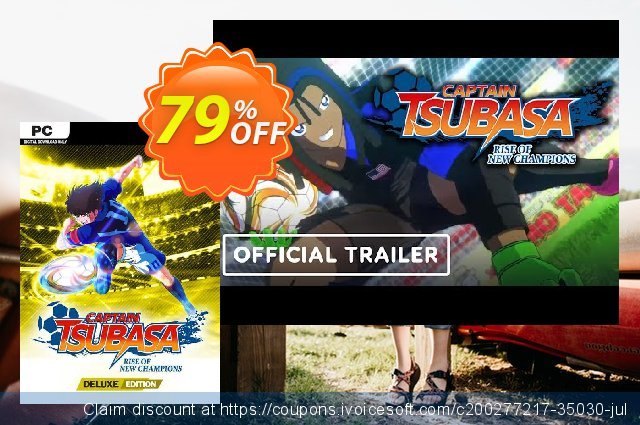 Captain Tsubasa: Rise of New Champions Deluxe Edition PC + Bonus discount 41% OFF, 2021 Mother Day offering deals. Captain Tsubasa: Rise of New Champions Deluxe Edition PC + Bonus Deal 2021 CDkeys