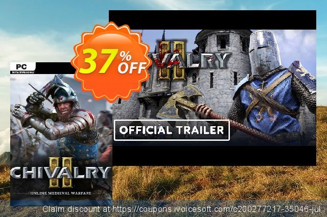 Chivalry 2 + Beta PC discount 10% OFF, 2021 Egg Day offering discount. Chivalry 2 + Beta PC Deal 2021 CDkeys