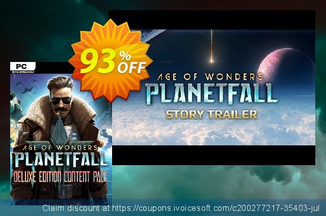 Age of Wonders: Planetfall Deluxe Edition Content Pack PC 可怕的 促销销售 软件截图