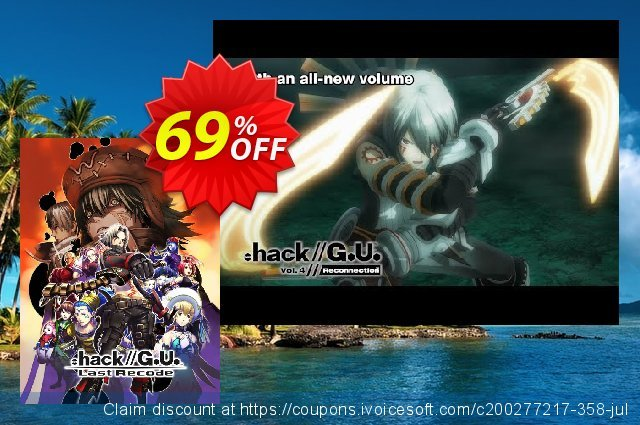 .hack//G.U. Last Recode PC discount 10% OFF, 2021 New Year offering sales