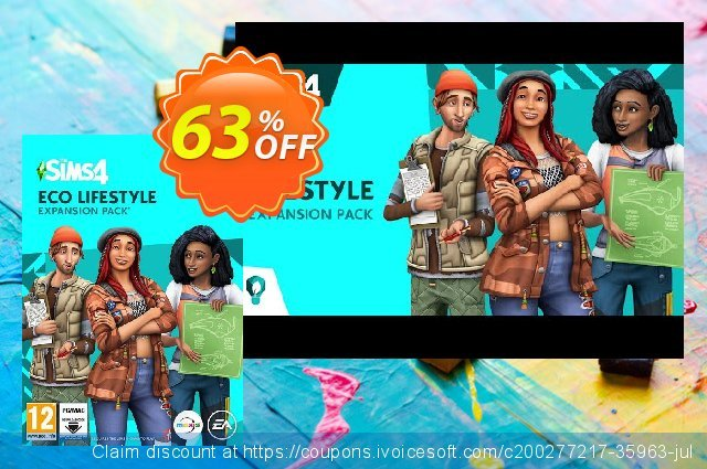 The Sims 4 - Eco Lifestyle PC discount 69% OFF, 2021 Mother's Day promo. The Sims 4 - Eco Lifestyle PC Deal 2021 CDkeys
