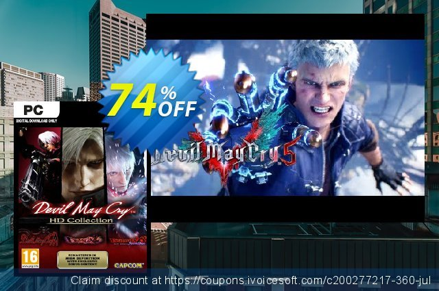 Devil May Cry HD Collection PC  특별한   매상  스크린 샷