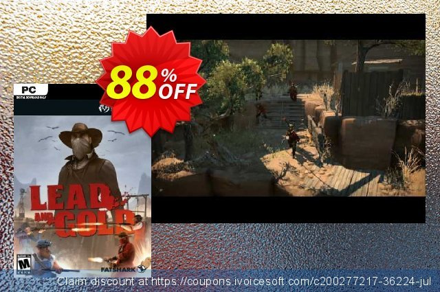 Lead and Gold: Gangs of the Wild West PC 棒极了 折扣 软件截图