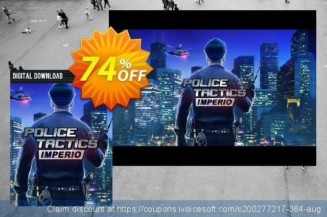 Police Tactics Imperio PC discount 74% OFF, 2020 Back to School event promo