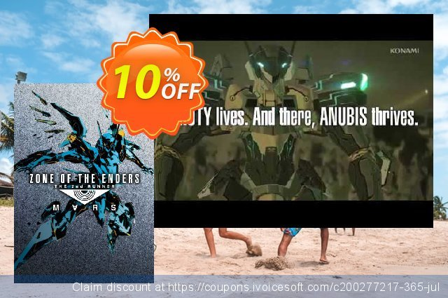 Zone Of The Enders The 2nd Runner: M∀RS PC 优秀的 产品销售 软件截图