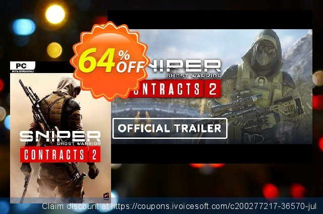 Sniper Ghost Warrior Contracts 2 PC 优秀的 促销 软件截图