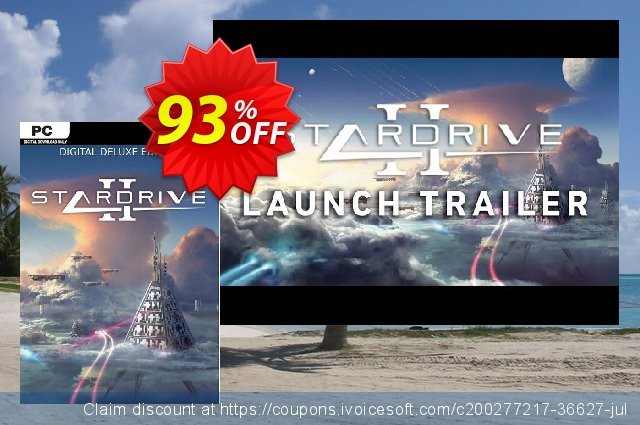 StarDrive 2 Deluxe Edition PC discount 10% OFF, 2021 Mother's Day promo sales. StarDrive 2 Deluxe Edition PC Deal 2021 CDkeys