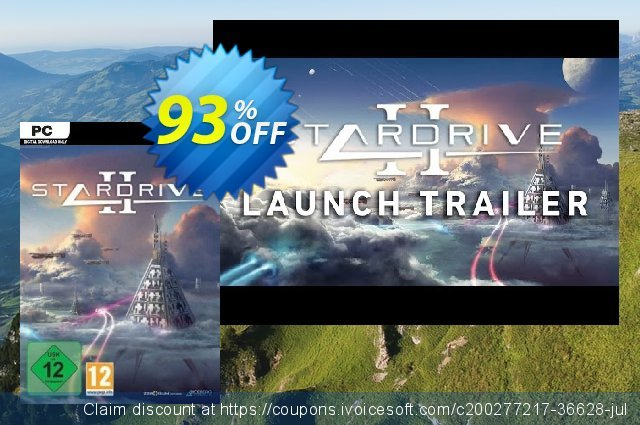 StarDrive 2 PC (EU) discount 92% OFF, 2021 Mother Day promo. StarDrive 2 PC (EU) Deal 2021 CDkeys