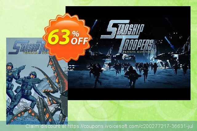 Starship Troopers - Terran Command PC discount 10% OFF, 2021 Mother's Day offering sales. Starship Troopers - Terran Command PC Deal 2021 CDkeys