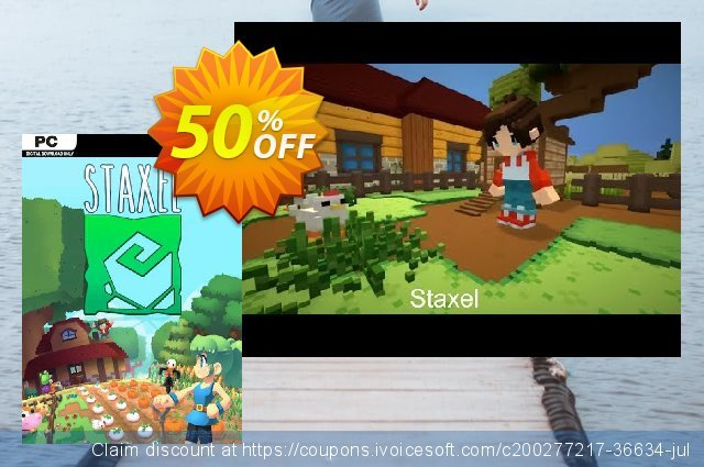 Staxel PC discount 43% OFF, 2021 Mother Day offering sales. Staxel PC Deal 2021 CDkeys