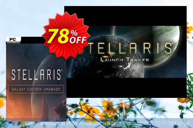 Stellaris: Galaxy Edition Upgrade Pack PC discount 81% OFF, 2021 Mother Day promotions. Stellaris: Galaxy Edition Upgrade Pack PC Deal 2021 CDkeys