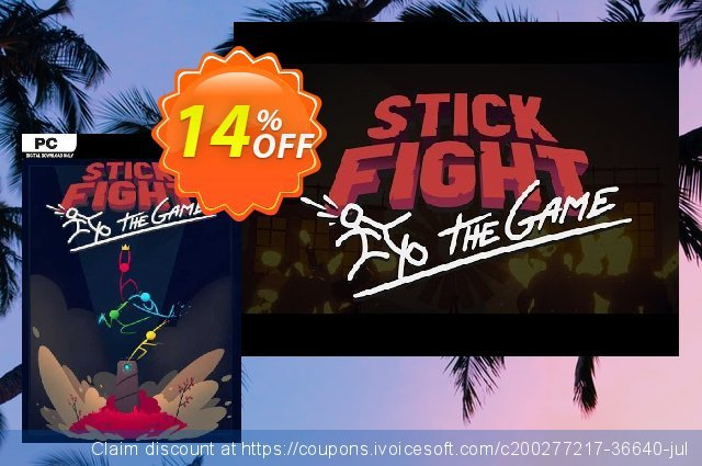 Stick Fight: The Game PC discount 10% OFF, 2021 Mother Day deals. Stick Fight: The Game PC Deal 2021 CDkeys