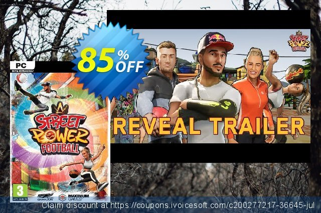 Street Power Football PC discount 72% OFF, 2021 Mother's Day offering deals. Street Power Football PC Deal 2021 CDkeys