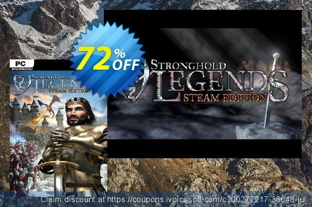 Stronghold Legends Steam Edition PC discount 70% OFF, 2021 Mother Day offering sales. Stronghold Legends Steam Edition PC Deal 2021 CDkeys