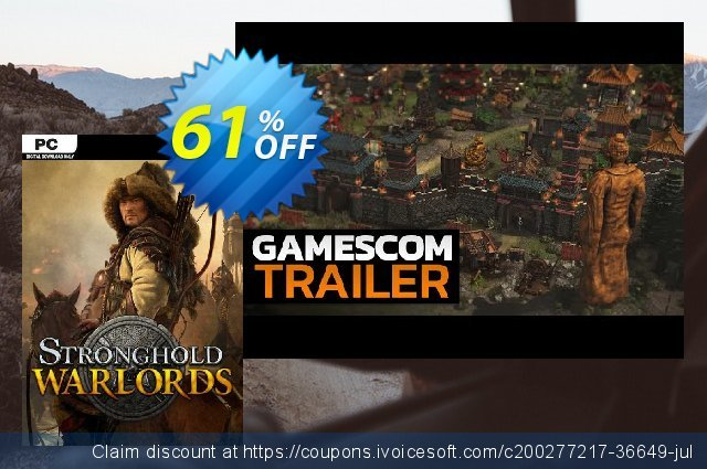 Stronghold: Warlords PC discount 28% OFF, 2021 Mother's Day offering sales. Stronghold: Warlords PC Deal 2021 CDkeys
