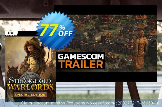 Stronghold: Warlords Special Edition PC discount 28% OFF, 2021 Mother Day offering sales. Stronghold: Warlords Special Edition PC Deal 2021 CDkeys
