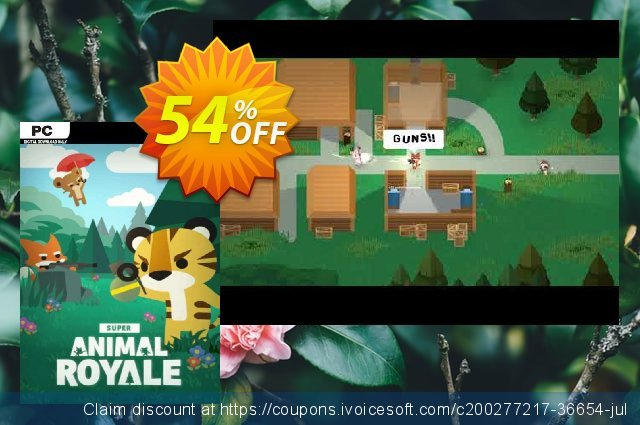 Super Animal Royale PC discount 41% OFF, 2021 Mother Day offering sales. Super Animal Royale PC Deal 2021 CDkeys