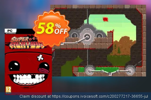 Super Meat Boy PC discount 59% OFF, 2021 Mother's Day offering sales. Super Meat Boy PC Deal 2021 CDkeys