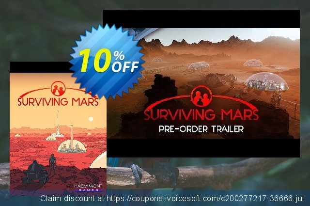 Surviving Mars PC (EU) discount 10% OFF, 2021 Mother Day promo. Surviving Mars PC (EU) Deal 2021 CDkeys