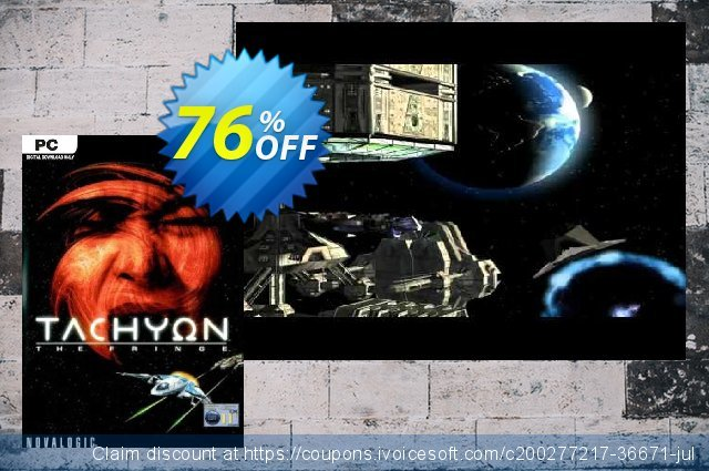 Tachyon The Fringe PC discount 66% OFF, 2021 Mother's Day offering sales. Tachyon The Fringe PC Deal 2021 CDkeys