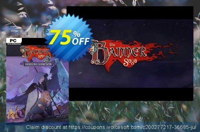 The Banner Saga 3 Deluxe Edition PC discount 72% OFF, 2021 Mother's Day promo. The Banner Saga 3 Deluxe Edition PC Deal 2021 CDkeys
