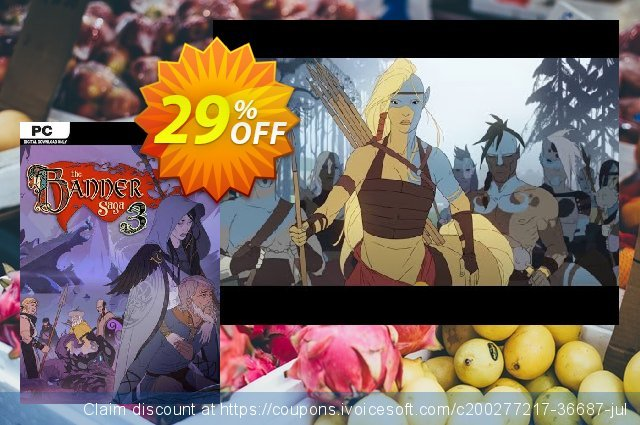 The Banner Saga 3 PC discount 71% OFF, 2021 Mother's Day offering sales. The Banner Saga 3 PC Deal 2021 CDkeys
