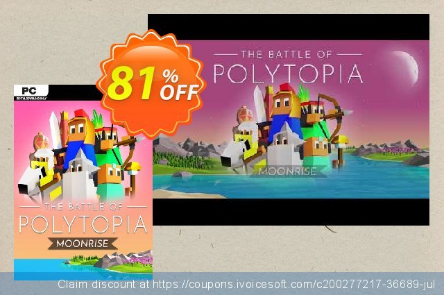 The Battle of Polytopia PC discount 56% OFF, 2021 Mother's Day offering sales. The Battle of Polytopia PC Deal 2021 CDkeys