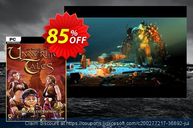The Book of Unwritten Tales Digital Deluxe Edition PC discount 84% OFF, 2021 Mother Day offering sales. The Book of Unwritten Tales Digital Deluxe Edition PC Deal 2021 CDkeys