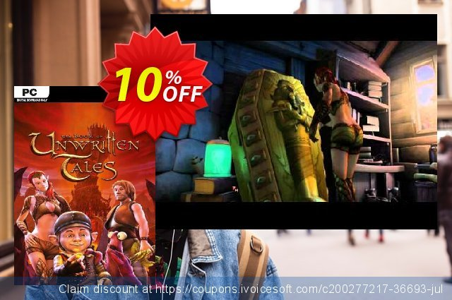 The Book of Unwritten Tales PC discount 10% OFF, 2021 Mother's Day offering sales. The Book of Unwritten Tales PC Deal 2021 CDkeys