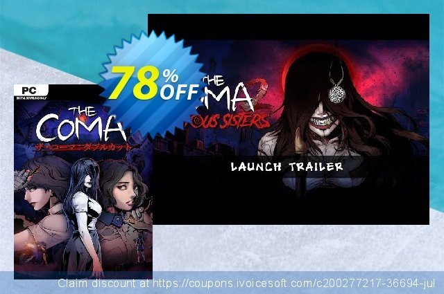 The Coma 2: Vicious Sisters PC discount 43% OFF, 2021 Mother Day discounts. The Coma 2: Vicious Sisters PC Deal 2021 CDkeys