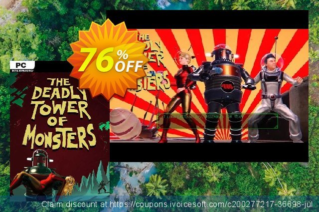The Deadly Tower of Monsters PC discount 76% OFF, 2021 Mother Day offer. The Deadly Tower of Monsters PC Deal 2021 CDkeys