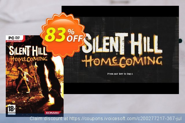 Silent Hill Homecoming PC discount 72% OFF, 2021 Mother's Day promo sales. Silent Hill Homecoming PC Deal