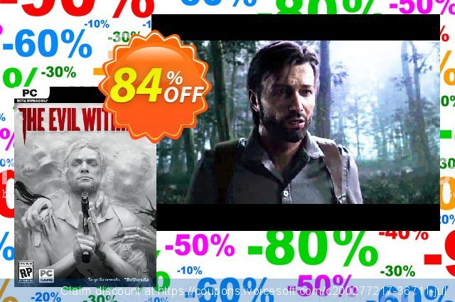 The Evil Within 2 PC (EU) discount 84% OFF, 2021 Mother's Day offering sales. The Evil Within 2 PC (EU) Deal 2021 CDkeys