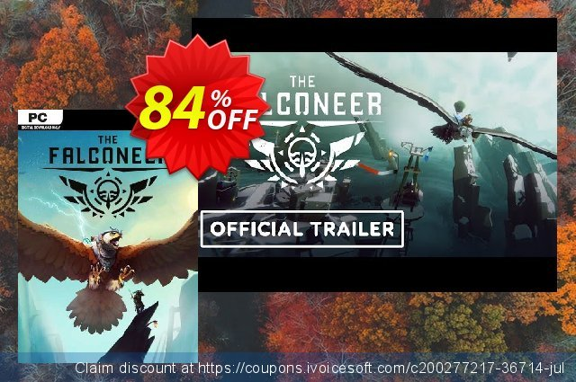 The Falconeer PC discount 68% OFF, 2021 Mother Day promotions. The Falconeer PC Deal 2021 CDkeys