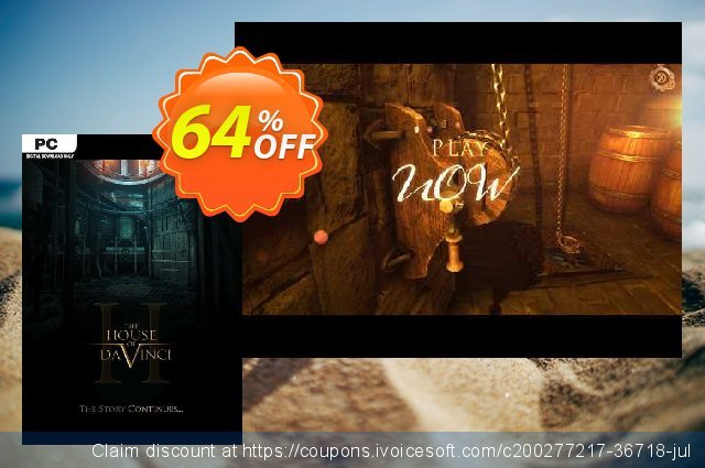 The House of Da Vinci 2 PC discount 63% OFF, 2021 Mother Day discount. The House of Da Vinci 2 PC Deal 2021 CDkeys