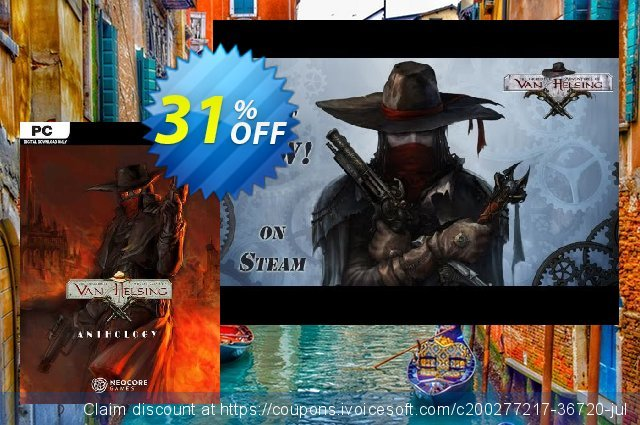 The Incredible Adventures of Van Helsing Anthology PC discount 32% OFF, 2021 Mother Day offering sales. The Incredible Adventures of Van Helsing Anthology PC Deal 2021 CDkeys