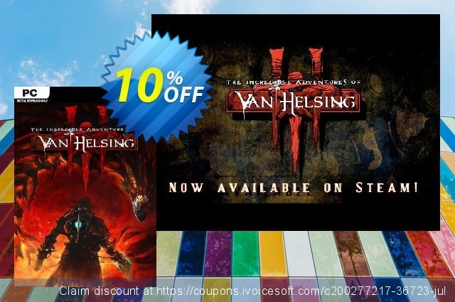 The Incredible Adventures of Van Helsing III PC discount 10% OFF, 2021 Mother's Day promo. The Incredible Adventures of Van Helsing III PC Deal 2021 CDkeys