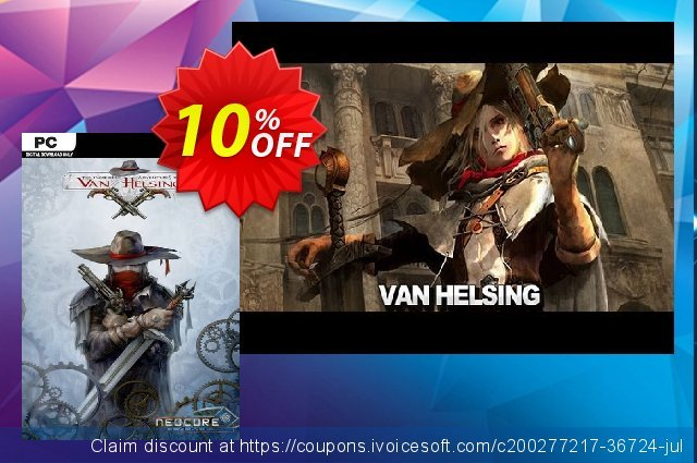 The Incredible Adventures of Van Helsing PC discount 10% OFF, 2021 Mother Day offering sales. The Incredible Adventures of Van Helsing PC Deal 2021 CDkeys