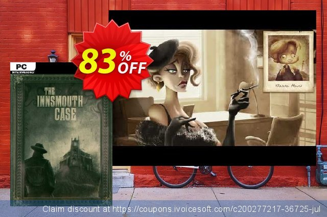 The Innsmouth Case PC discount 31% OFF, 2021 Mother's Day offering sales. The Innsmouth Case PC Deal 2021 CDkeys