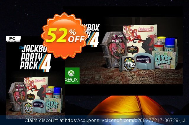 The Jackbox Party Pack 4 PC discount 53% OFF, 2021 Mother's Day offering sales. The Jackbox Party Pack 4 PC Deal 2021 CDkeys