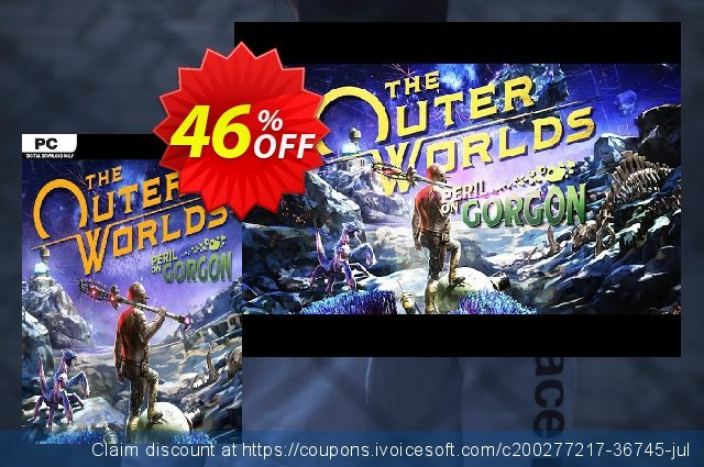 The Outer Worlds: Peril on Gorgon DLC EU (Epic) discount 10% OFF, 2021 Mother's Day offering sales. The Outer Worlds: Peril on Gorgon DLC EU (Epic) Deal 2021 CDkeys
