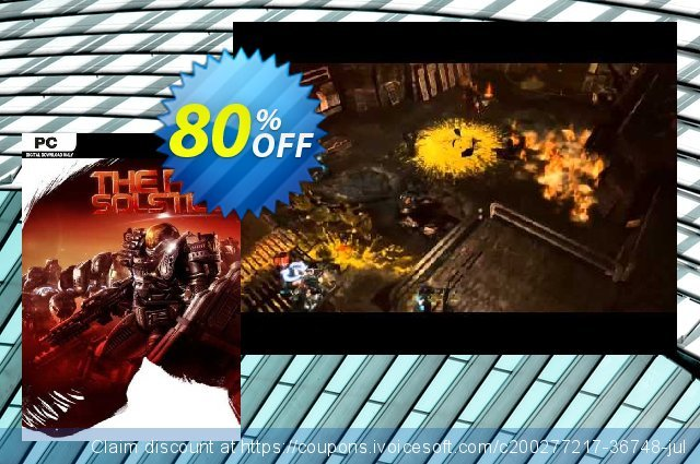 The Red Solstice PC (EN) discount 78% OFF, 2021 Mother Day offering sales. The Red Solstice PC (EN) Deal 2021 CDkeys
