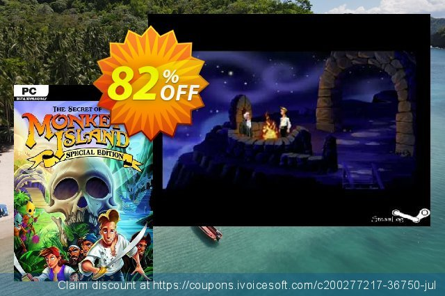 The Secret of Monkey Island: Special Edition PC discount 81% OFF, 2021 Mother Day offering sales. The Secret of Monkey Island: Special Edition PC Deal 2021 CDkeys