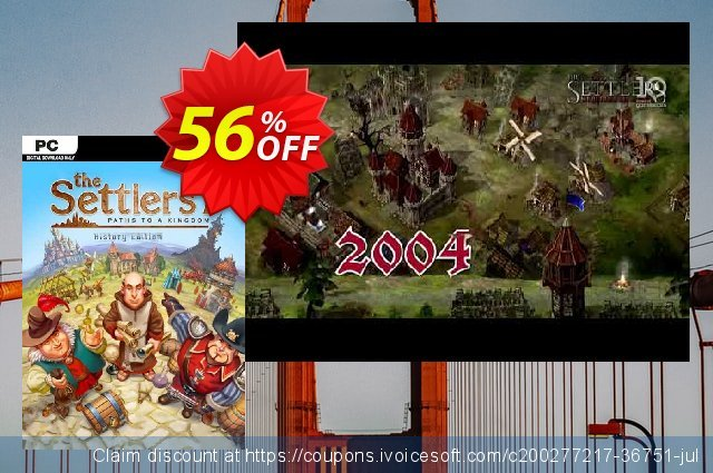 The Settlers 7: History Edition PC discount 47% OFF, 2021 Mother's Day discounts. The Settlers 7: History Edition PC Deal 2021 CDkeys