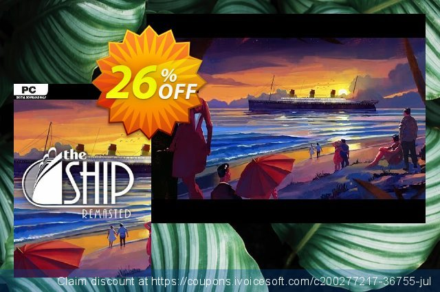 The Ship Remasted PC (EN) discount 70% OFF, 2021 Mother's Day offer. The Ship Remasted PC (EN) Deal 2021 CDkeys